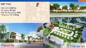 Bán Biệt thự Khu Đô Thị Mới Kim Đô Yên Phong