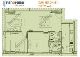 Bán Căn 2 ngủ 75m2 Panorama Hoàng Văn Thụ Giá rẻ