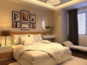 trang trí phòng ngủ cho người mệnh kim