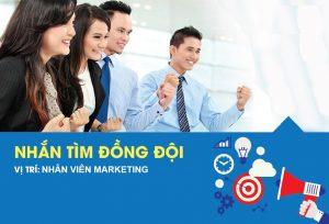 Tuyển Dụng 5 Nhân viên Marketing online