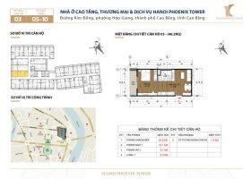 Căn chung cư 1 phòng ngủ, đường Kim Đồng, TP Cao Bằng, dt 46.2 m2