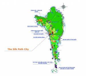 Vị trí dự án The Silk Path City Phú Quốc