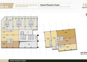 Diện tích 86.2 m2, Shophouse Hà nội Phoenix Tower