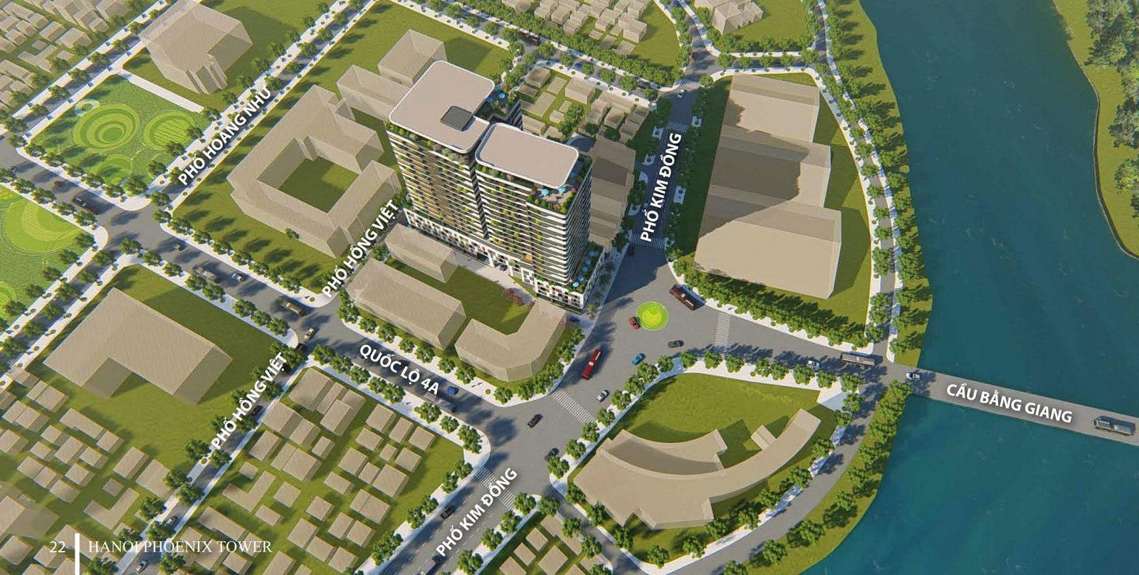 Dự án tòa nhà hỗn hợp thương mại, dịch vụ và căn hộ - Hà Nội Phoenix Tower