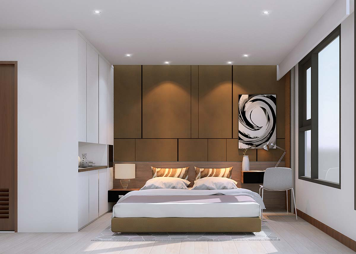 Phòng ngủ rice city thạch bàn