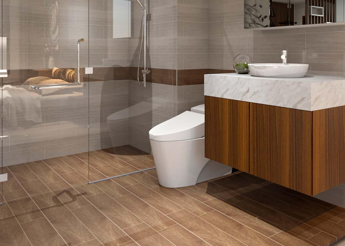 Phòng wc rice city thạch bàn
