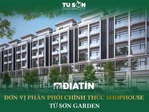 Bán Shophouse LK02 Từ Sơn Garden City