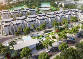Khu đô thị The Crown Villas Thái Nguyên