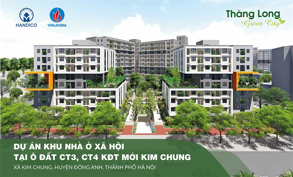 Nhà ở xã hội CT3, CT4 Khu đô thị mới Kim Chung, Đông Anh, Hà Nội